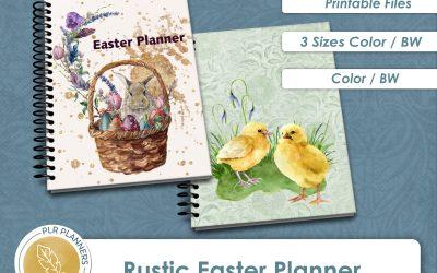 Rustic Easter Planner