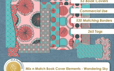 Mix n Match Book Covers – Wandering Sky