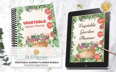 Vegetable Garden Journal & Planner