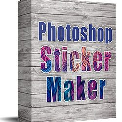 Photoshop Sticker Maker