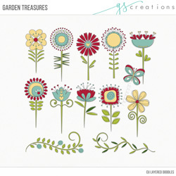 Garden Treasures Layered Templates