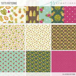 Tutti Toucans Layered Patterns