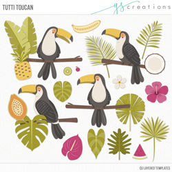 Tutti Toucans Layered Templates