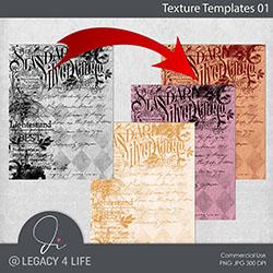 Texture Templates 01