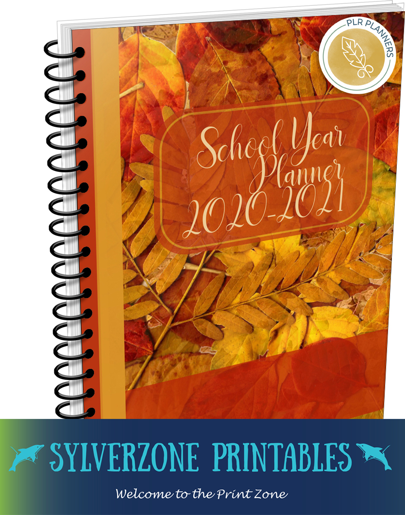 School Year Planner – 2020-21  with SylverZone Printables