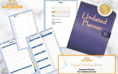 Digital Undated Planner with Digital Publishing World