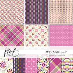 Pats 'n Prints   Set 07